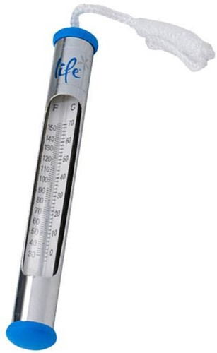 Life Spa Deluxe Chrome Thermometer