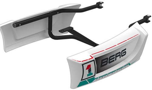 BERG side skirts voor de BERG Race skelters, wit