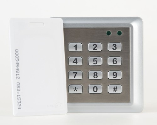 SuperJack sleutelloze bediening S, bedraad, incl. magneetkaart, afm. 100x100x20