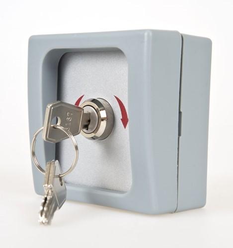 SuperJack sleutelschakelaar, opbouw