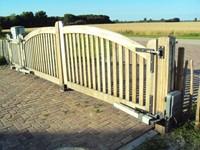 EasyJack automatische vleugelhekopener voor dubbele poort-2