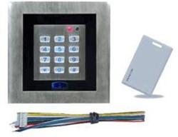SuperJack sleutelloze bediening, bedraad, incl. magneetkaart, afm. 125x125x22