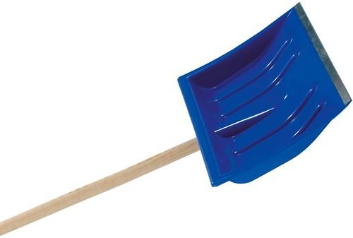 Sneeuwruimer, kunststof blad 40 cm,  blauw
