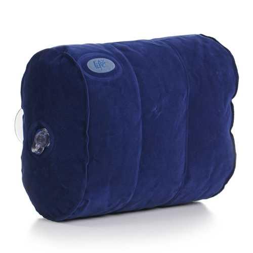 Life Spa pillow, opblaasbaar hoofdkussen met zuignappen