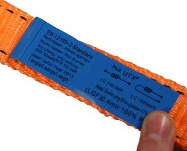 Spanband met ratel, 1500 kg, breedte 25 mm, lengte 6 m-2