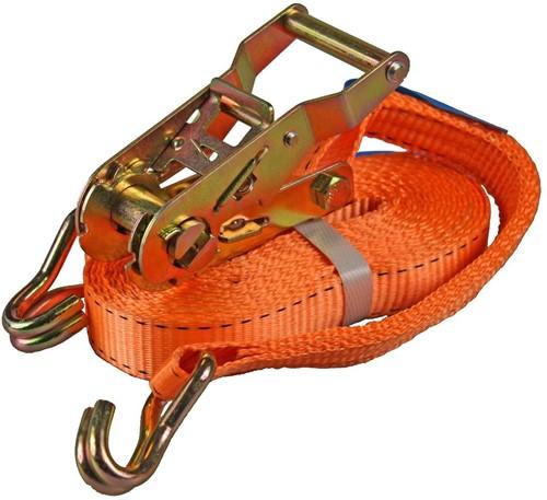 Spanband met ratel, 1500 kg, breedte 25 mm, lengte 6 m-1