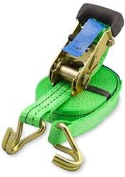 Spanband met ratel, 1500 kg, breedte 25 mm, lengte 6 m