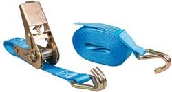 Spanband met ratel, 500 kg, breedte 25 mm, lengte 5 m