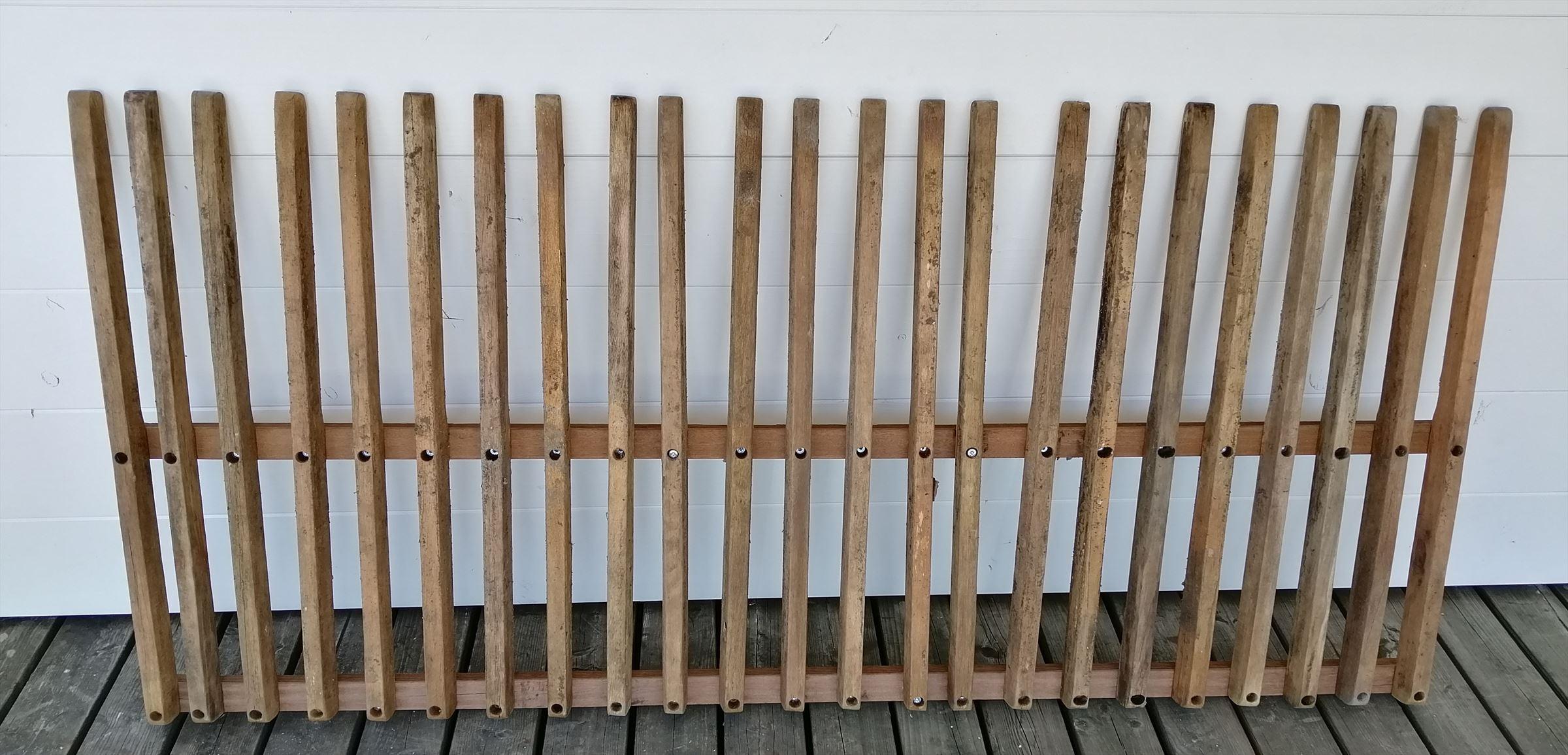 Kühlkamp hardhouten spijlenhek, afm. 180 x 80 cm, b-keus