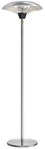 Sunred elektrische terrasheater Sirius, halogeen, vermogen 2100 W, staand model, rvs