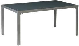 Tuinset Moon: Star tafel  afm.160 x 100 cm, 4 Moon stoelen, op=op-3