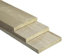 geïmpregneerde steigerplank, afm.  3,0 x  19,0 cm, lengte 500 cm
