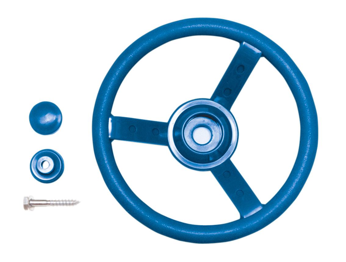 Kühlkamp Stuurwiel, blauw kunststof