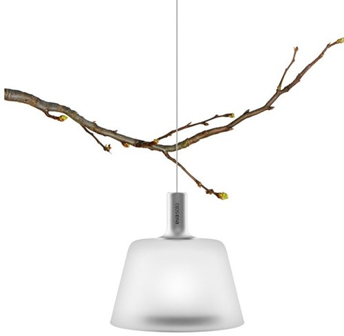 Eva Solo SunLight hanglamp, hoogte lamp 12,5 cm, op zonne-energie