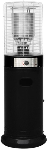 Sunred gasheater LH15B, vermogen 11 kW, laag model, zwart
