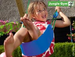 Jungle Gym Sling Swing bandschommel, blauw kunststof