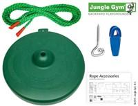 Jungle Gym schotelschommel Twist Disk kit, groen-3