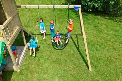 Blue Rabbit 2.0 - @swing - aanbouwschommel, incl. houtpakket-2