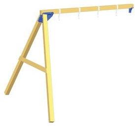 Blue Rabbit 2.0 - @swing - aanbouwschommel, incl. houtpakket-3