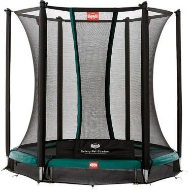BERG inground trampoline Talent, veiligheidsnet Comfort, diam.180 cm