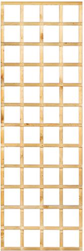 Trellisscherm recht, afm.  60 x 180 cm, geïmpregneerd grenen
