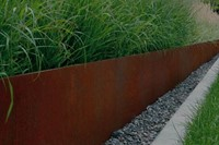 kantopsluiting corten staal 230 x 15 cm, recht 2 mm dik, per 10 stuks-2