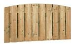 Toogscherm, 21-planks, afm. 180x90/100 cm, geïmpregneerd grenen