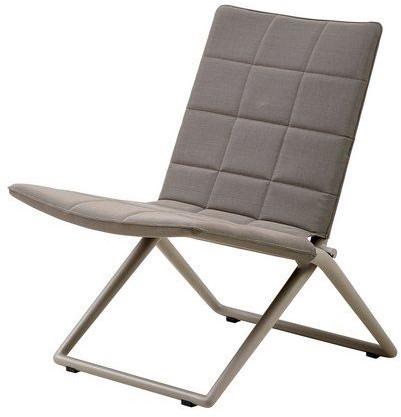 Cane-line Traveller vouwbare lounge stoel - brown