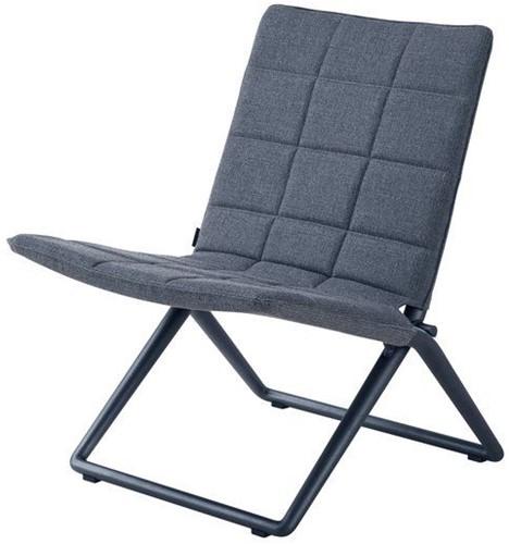 Cane-line Traveller vouwbare lounge stoel - grey