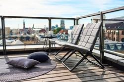 Cane-line Traveller vouwbare lounge stoel