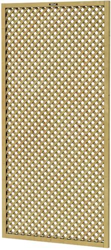 Trellisscherm Jasmijn, afm.   90 x 180 cm, geïmpregneerd vuren
