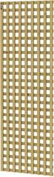 Hillhout trellisscherm Mediterranee, afm.  60 x 180 cm, geïmpregneerd vuren