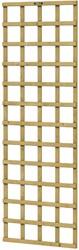Hillhout trellisscherm de Luxe, afm.   60 x 180 cm, geïmpregneerd vuren