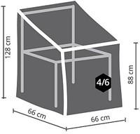 Distri-Cover beschermhoes tuinstoel, afm.  66 x 66 x 128/88 cm-2