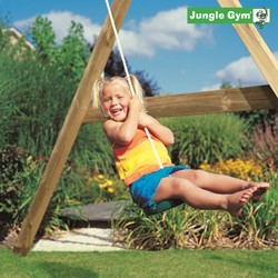 Jungle Gym schotelschommel Twist Disk kit, groen