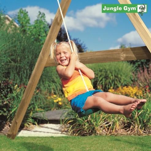 Jungle Gym schotelschommel Twist Disk kit, groen