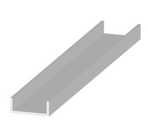 Garden Trade U-paal, afm. 5,3 x 14,1 x 230 cm, verzinkt staal