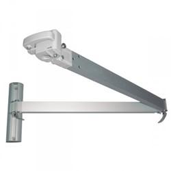 Umbrosa Paraflex long size arm, lengte 235 cm, geanodiseerd aluminium