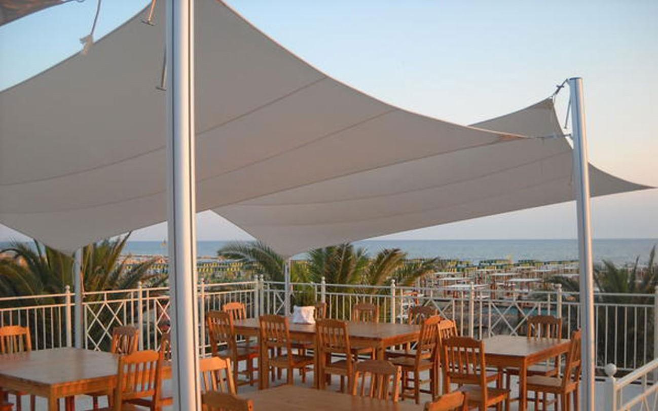 Bol manutent uv beschermende strand parasol schaduw doek