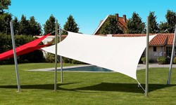 Umbrosa Ingenua schaduwzeil, vierkant, afm. 4 x 4 m, Premium doek