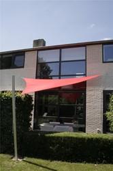 Umbrosa Ingenua schaduwzeil, driehoek, afm. 5 x 5 x 5 m, Premium doek