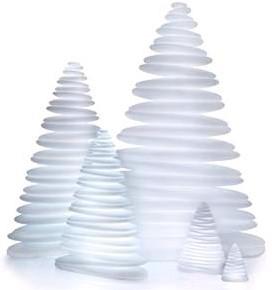 Chrismy kerstboom nano, afm. 19 x 13 cm, hoogte 25 cm, light, showmodel