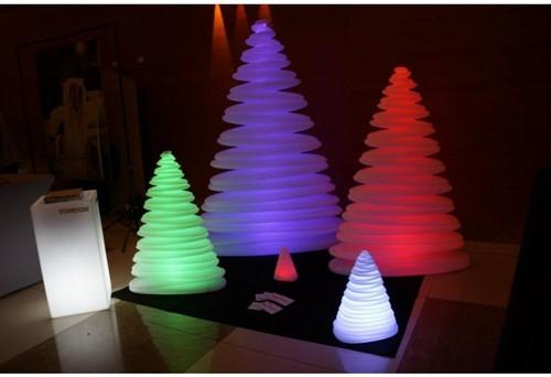 Chrismy kerstboom, afm.  75 x 32, hoogte 100 cm, light, rgb, showmodel