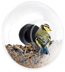 Eva Solo vogelvoederbol voor raam, diam. 14,3 cm, hoogte 5,3 cm, glas