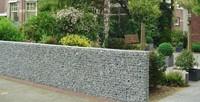 Schanskorf, afm.  50 x 50 x 50 cm, verzinkt staal, maas 10 x 10 cm-2