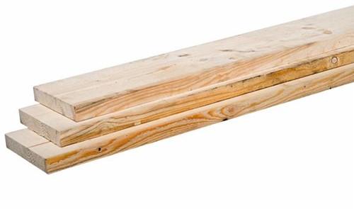 vuren steigerplank, afm.  3,0 x  20,0 cm, lengte 500 cm