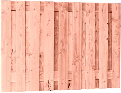 Douglas tuinscherm, afm 180 x 130 cm, 19-planks fijn bezaagd onbehandeld