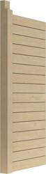 Wand 1 m inclusief staander  tbv topvision tuinhuizen, blokhutprofiel