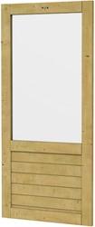 Hillhout wandelement Basic Excellent met groot raam, afm. 101 x 218 cm, geïmpregneerd vuren