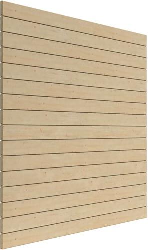 Wand 3  m tbv topvision tuinhuizen, blokhutprofiel